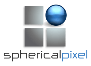 Logo Spherical Pixel